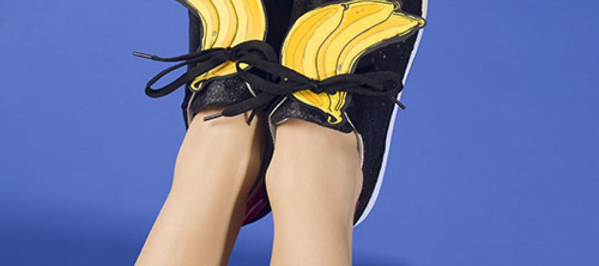 La banane jusqu'au bout des pieds