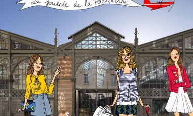 Illustration Journee Parisienne Angeline Melin