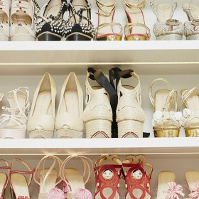 échantillonnage de chaussures vestiaire collective