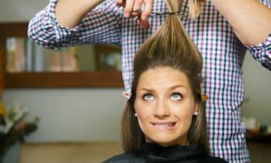 Séance coiffure