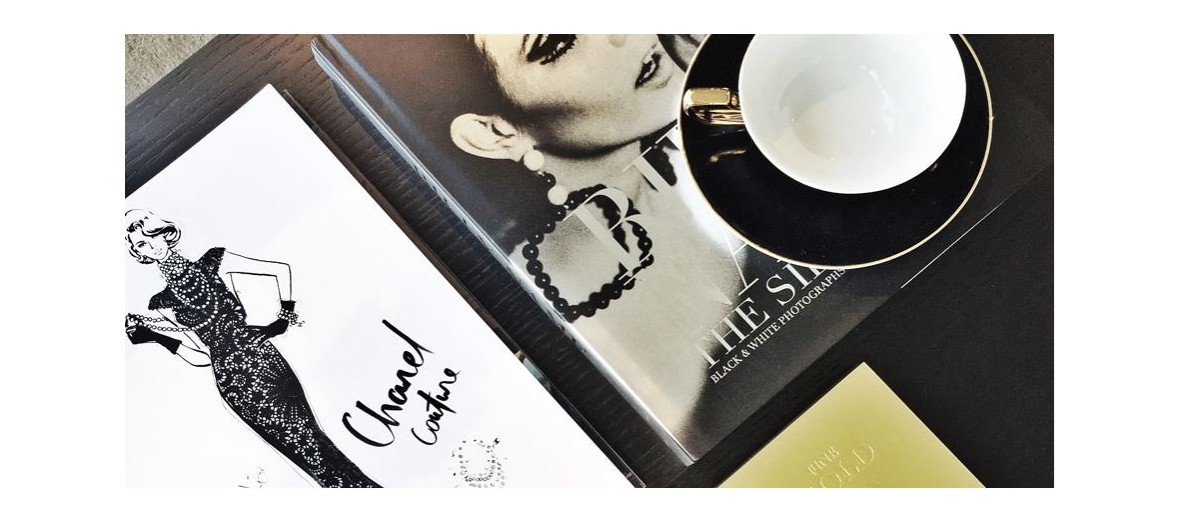 chanel book on megan hess' desk