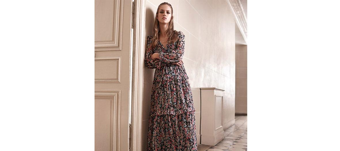Robe longue Claudie Pierlot