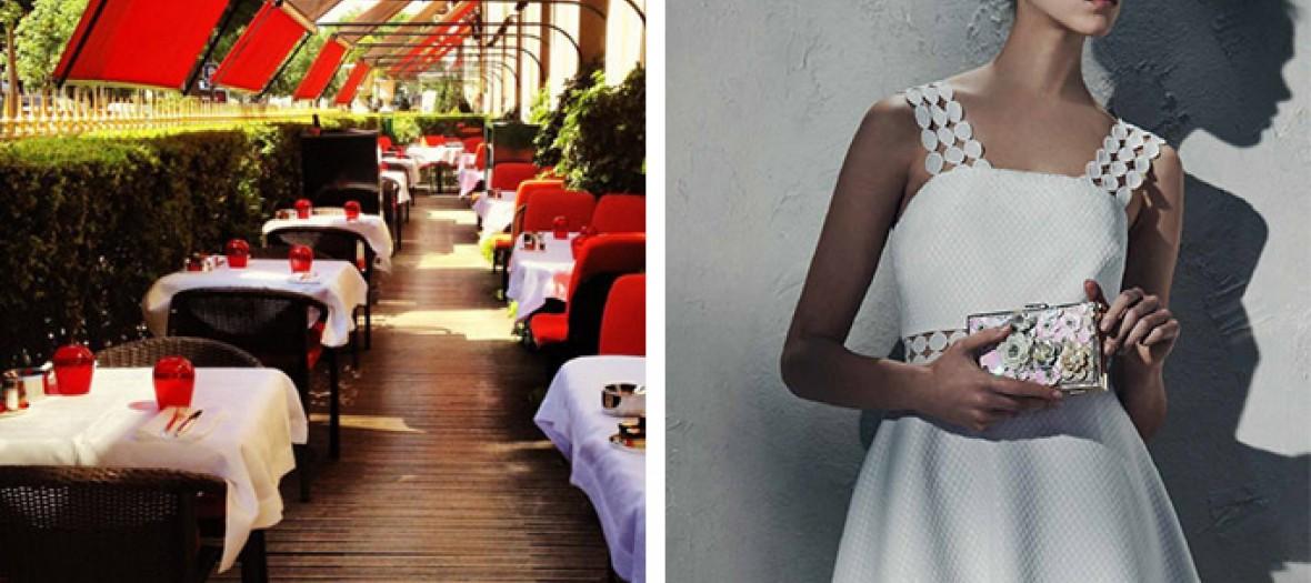 robe new look pour la terrase du plaza athenee