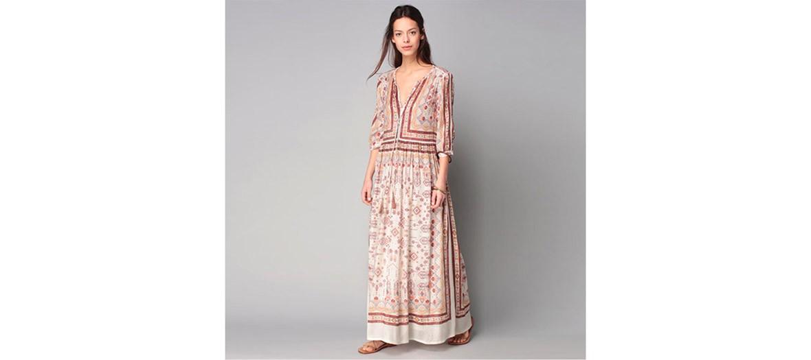 Deby Debo Robe Longue Imprimes