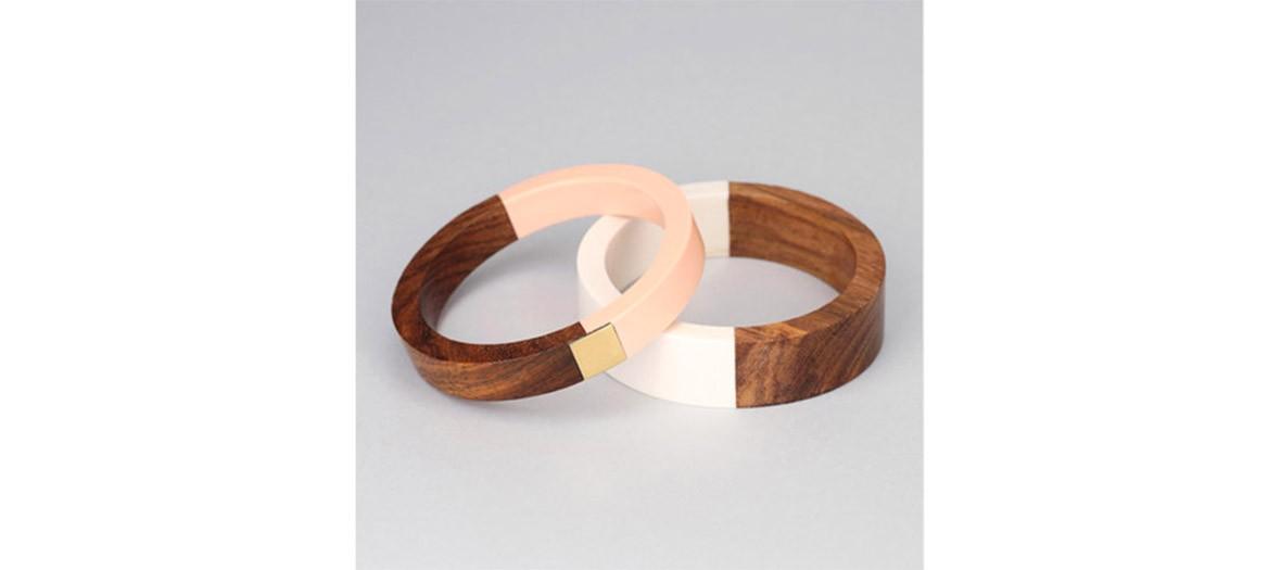 Pieces Bracelet Bois