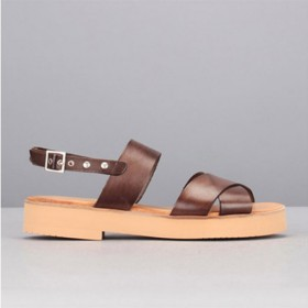 Beatriz Furest Sandales Marron Cuir