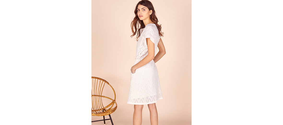 English embroidery dress, Jolie Jolie at Petite Mendigote