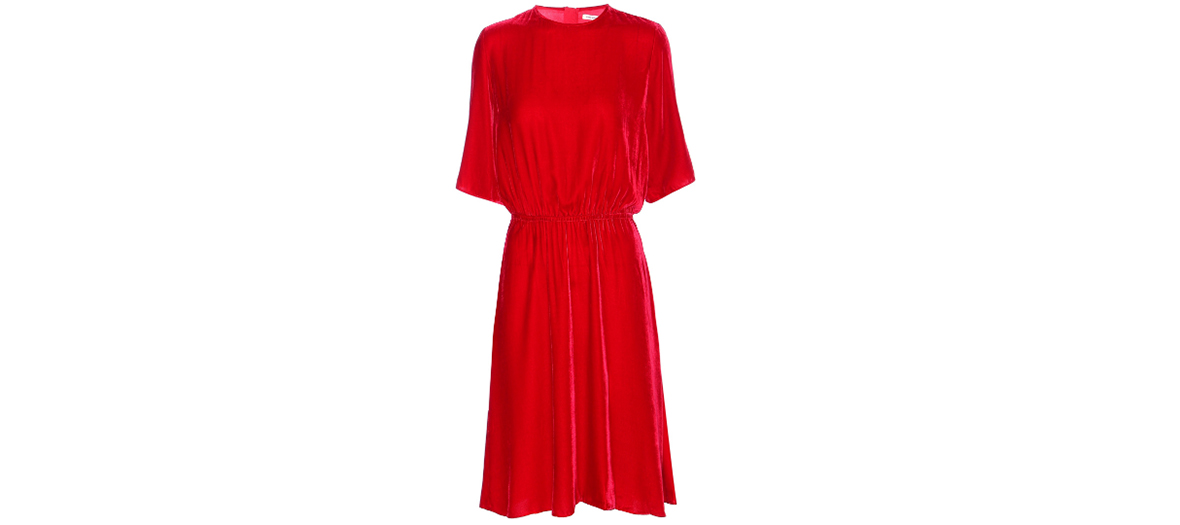 robe rouge isabel marant