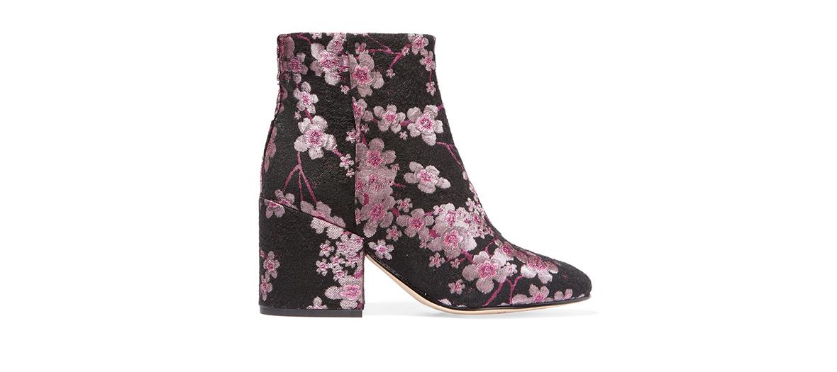 floral booties sam edelman