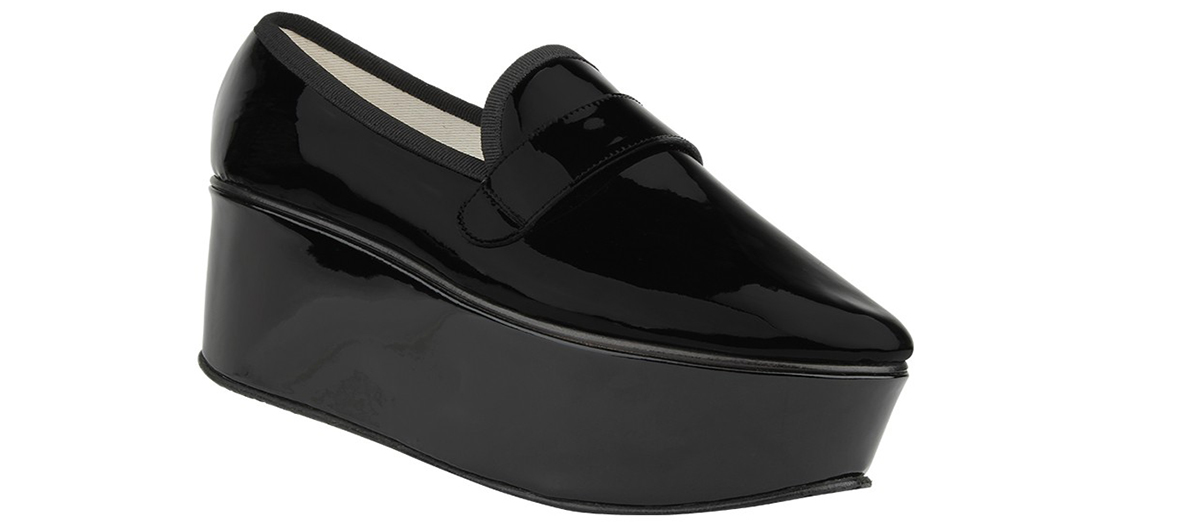 black platforms repetto