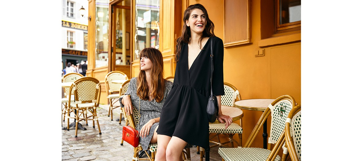 deux femmes en terrase