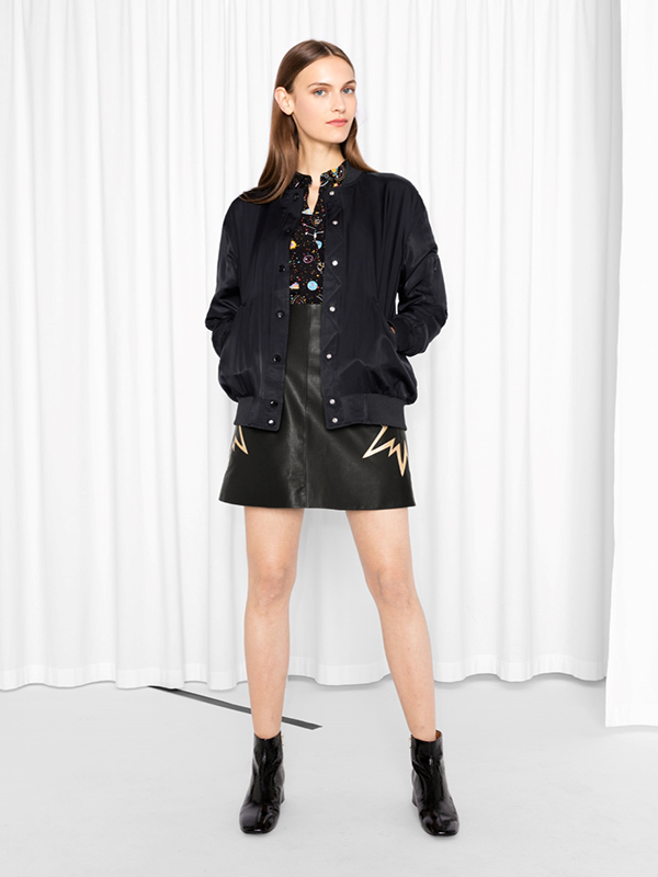 & other stories bomber