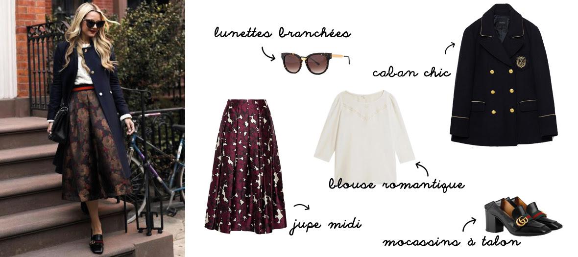 Blair Eadie's fashion look