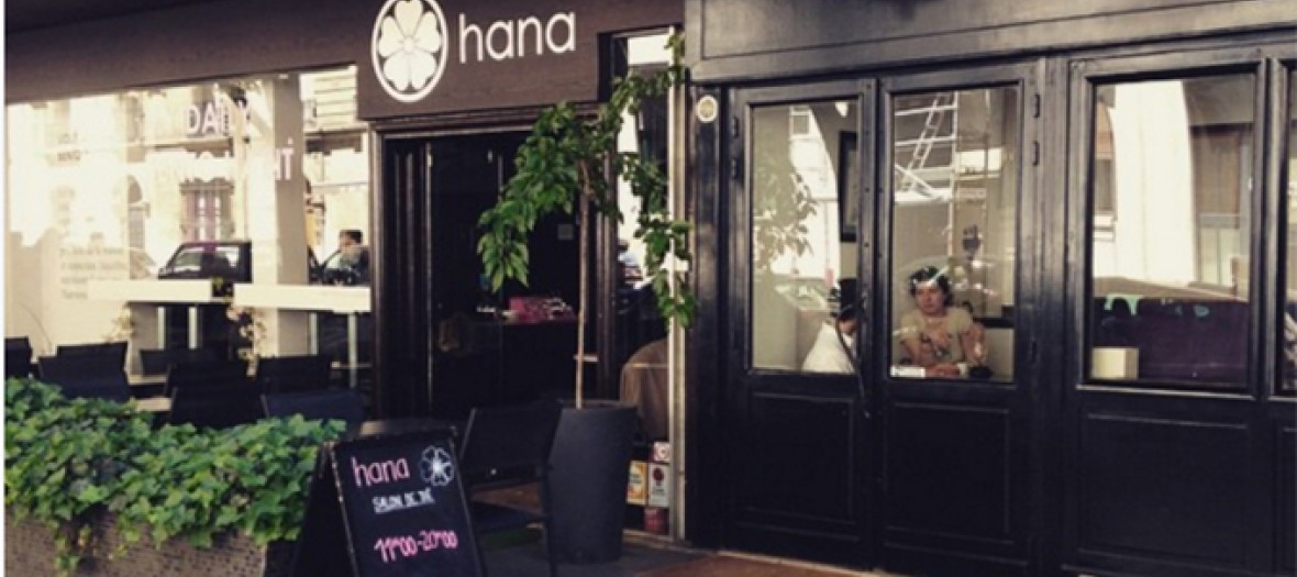 Japanese restaurant hana in passy
