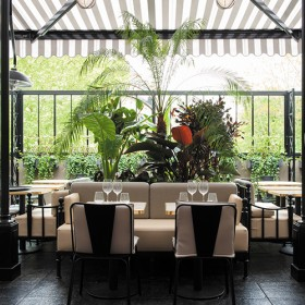 salle principale du restaurant La Gare à Passy