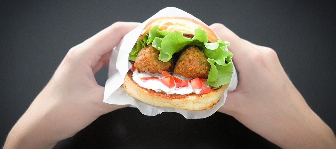 le burger veggie de chez B&M Burger