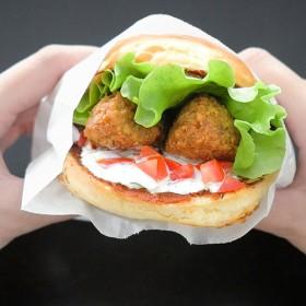B&M veggie burger