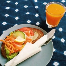 Pause sandwich au Café Suédois dans le Marais