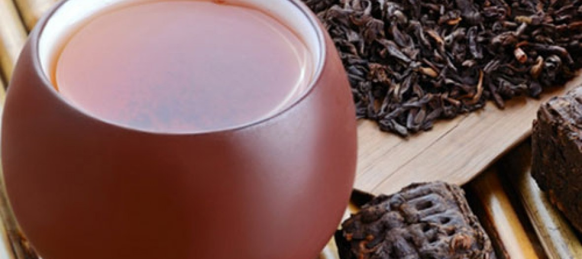 Sip some Pu'Erh, the new green tea