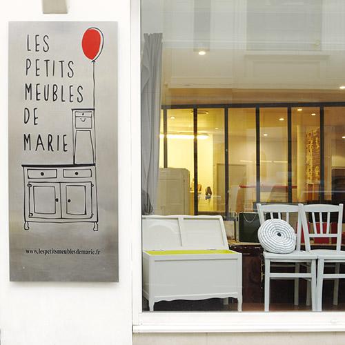 les petits meubles de marie the coolest vintage shop on canal saint martin. Black Bedroom Furniture Sets. Home Design Ideas