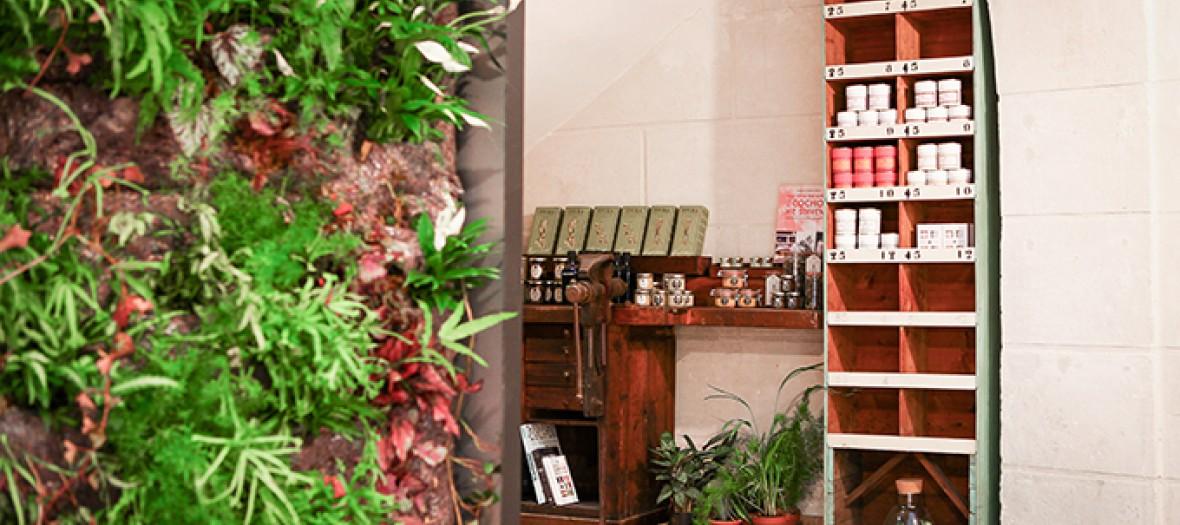 L'épicerie fine de la garconnière avec son design épuré et sa grande sélection de produits