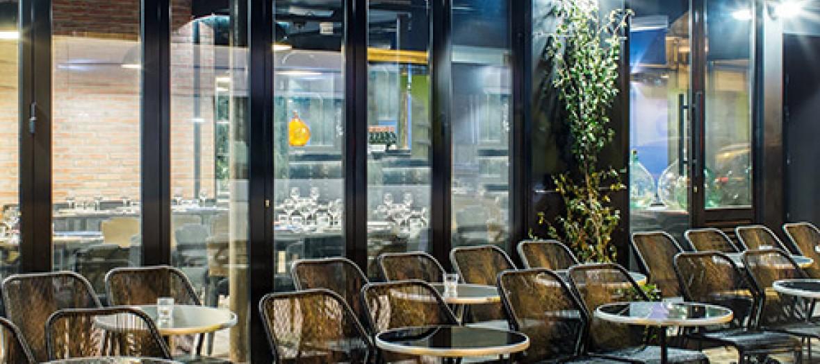 Terrasse else restaurant