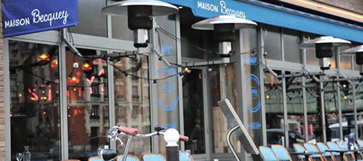 Terrasse du restaurant Maison Becquey