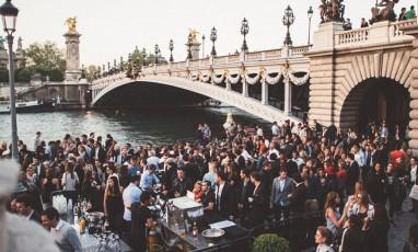 Pont Alexandre III à la terrasse du Faust