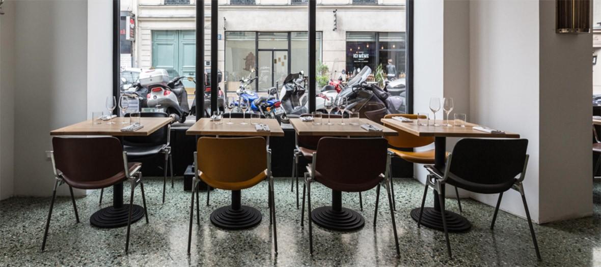 intérieur du restaurant Giovanni Passerini