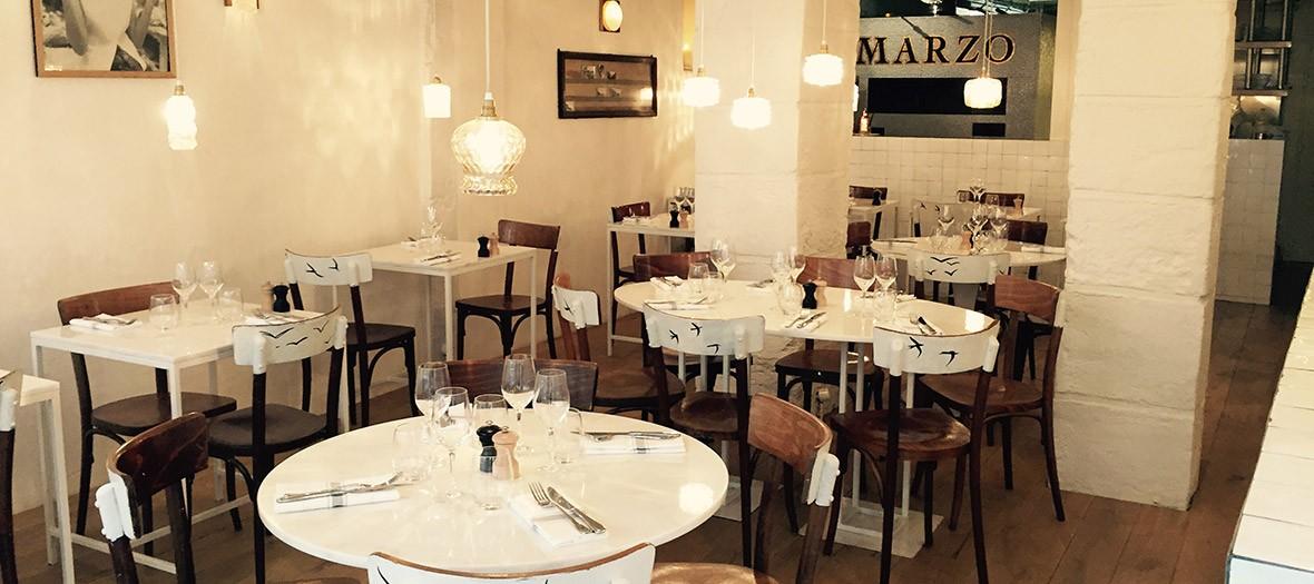 Interior marzo restaurant