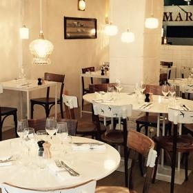 Interieur du restaurant Marzo