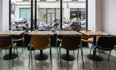 interior of the Giovanni Passerini  restaurant