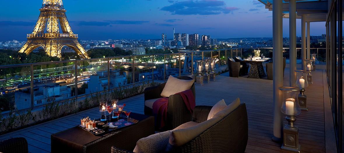 Shangri la rooftop