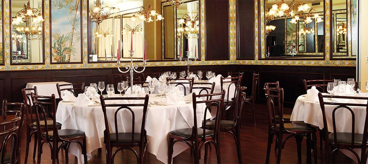 Salle du restaurant Lipp