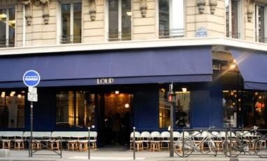 Devanture du restaurant Loup
