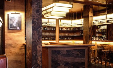 Interieur du bar le fou