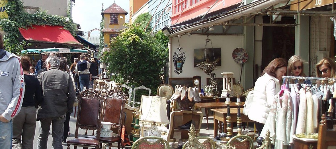 Vintage and flea market