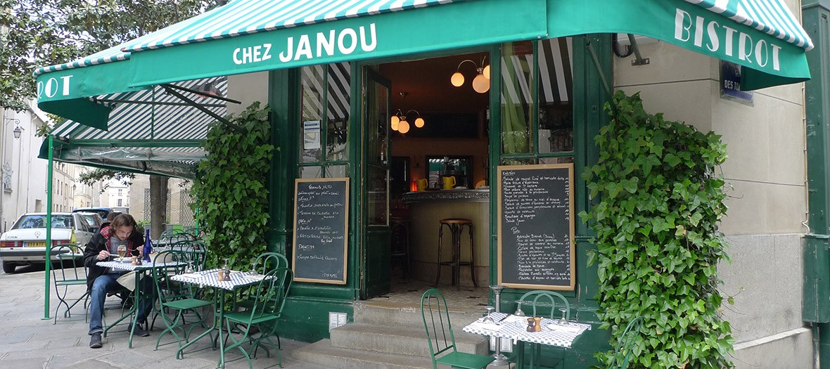 Janou bistrot provence paris