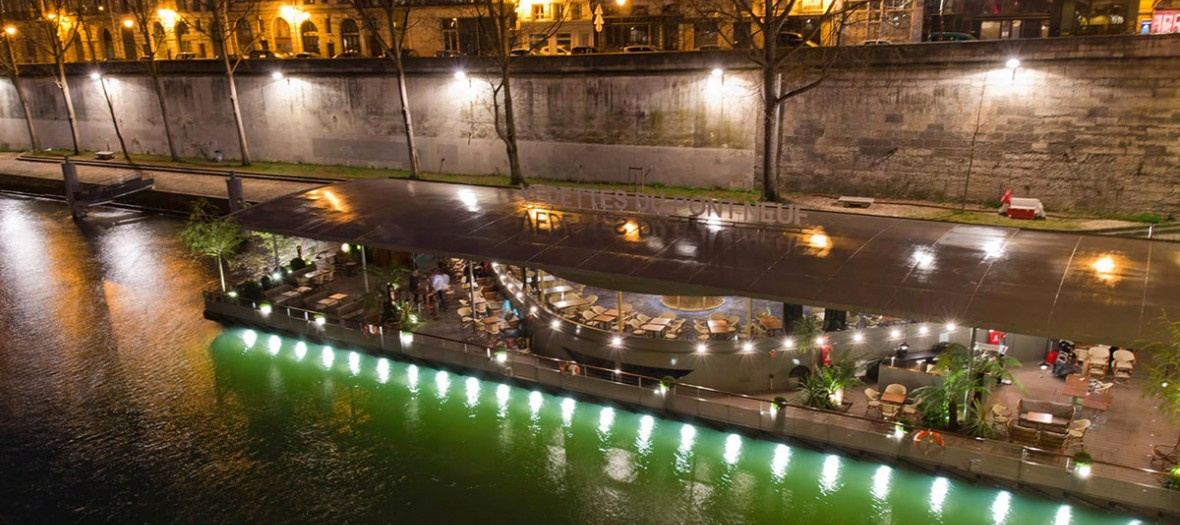Les Jardins Du Pont Neuf To Party On A Boat