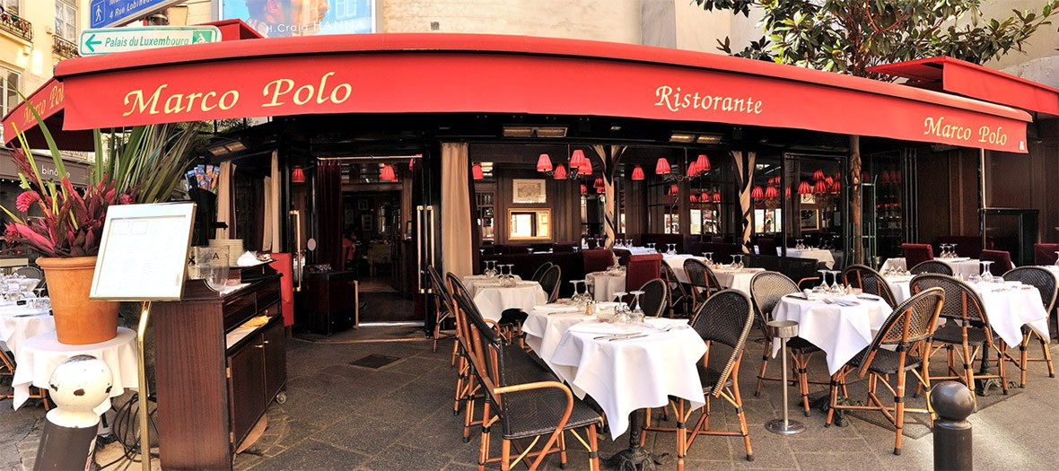 Marco polo restaurant terrace