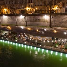 Les jardins du pont neuf barge