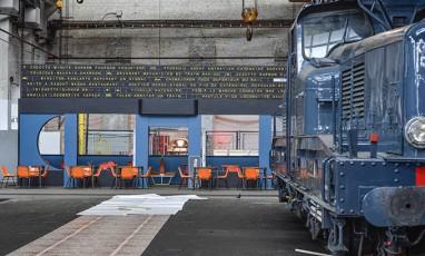 Train restaurant for the Grand Train