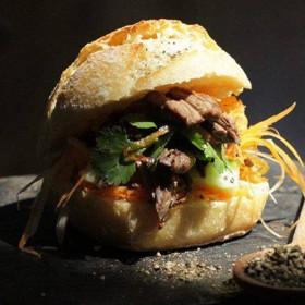 Miss banh mi sandwich