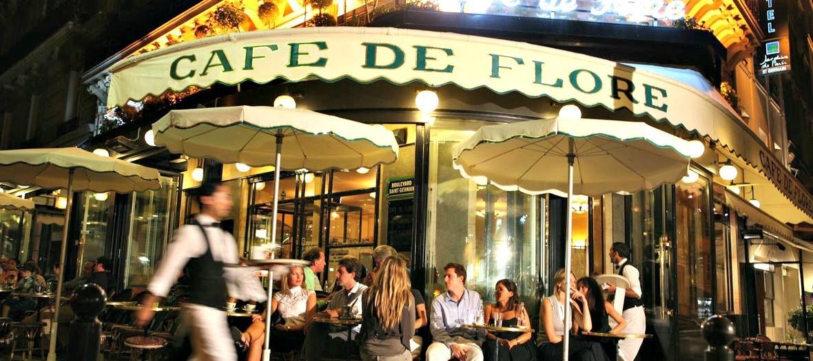 Cafe de Flore, terrace