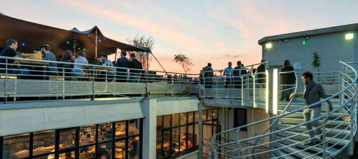 Le Perchoir, rooftop