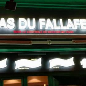 As Du Fallafel, devanture