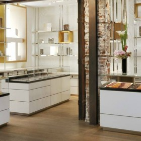 Jacques Genin chocolaterie stand