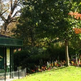 parc Monceau, jardins