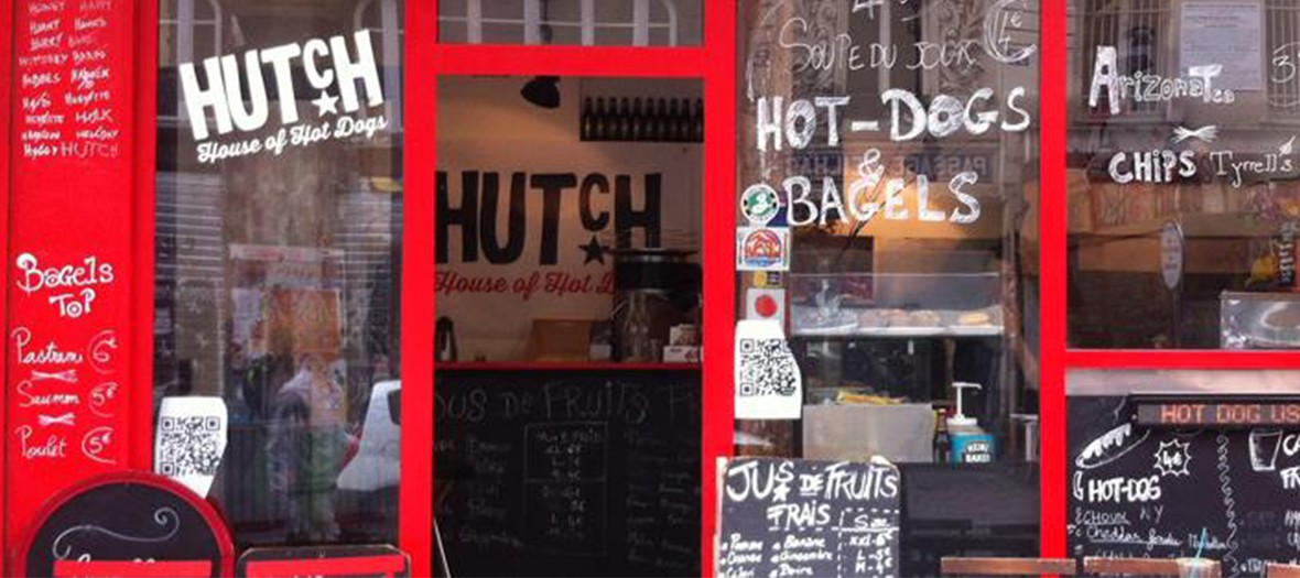 Hutch hot dogs vitrine