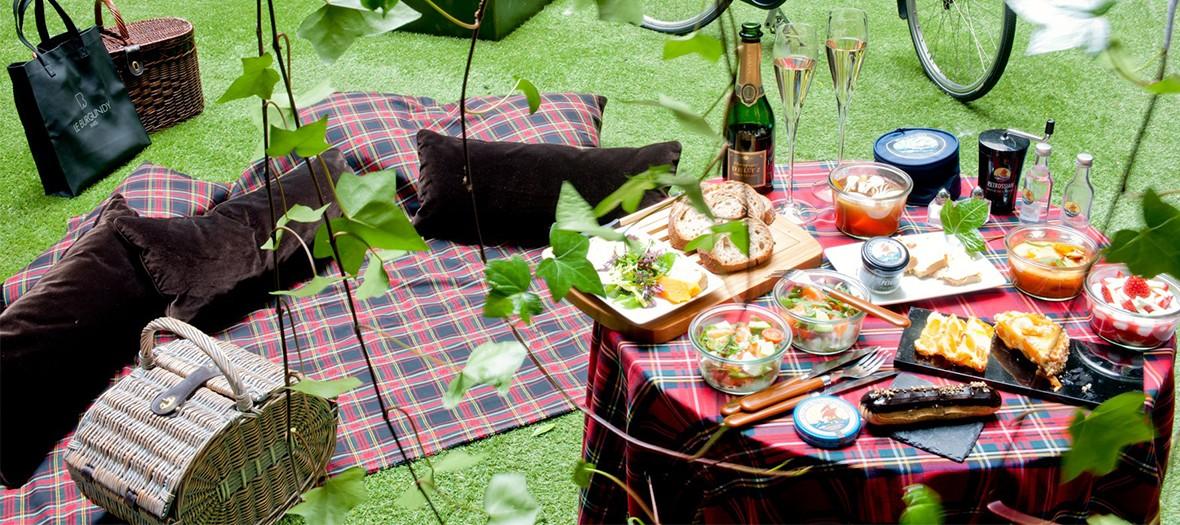 Pique nique burgundy gastronomique